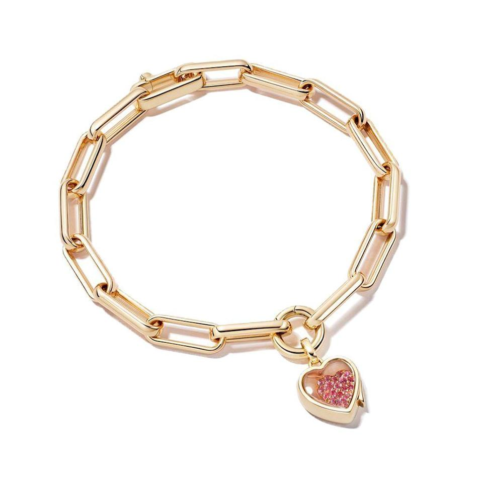 """<p><strong>Loquet</strong></p><p>loquetlondon.com</p><p><strong>$2140.00</strong></p><p><a href=""""https://www.loquetlondon.com/us/shop/bracelets/single-heart-locket-bracelet.html"""" rel=""""nofollow noopener"""" target=""""_blank"""" data-ylk=""""slk:Shop Now"""" class=""""link rapid-noclick-resp"""">Shop Now</a></p><p>Loquet was founded by environmental journalist Sheherazade Goldsmith, who manifests her work into the ethos of her brand. Loquet responsibly sources stones from suppliers that adhere to the Kimberly Process and their packaging is made entirely from recycled materials. </p>"""