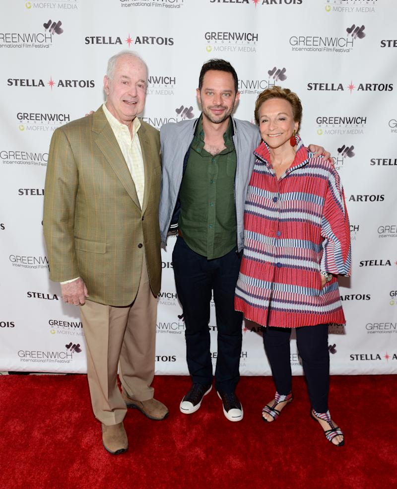 GREENWICH, CT - JUNE 11: (L-R) Jules B. Kroll, Nick Kroll and Lynn Kroll attend the 'My Blind Brother' screening during 2016 Greenwich International Film Festival on June 11, 2016 in Greenwich, Connecticut. (Photo by Noam Galai/Getty Images for GIFF)