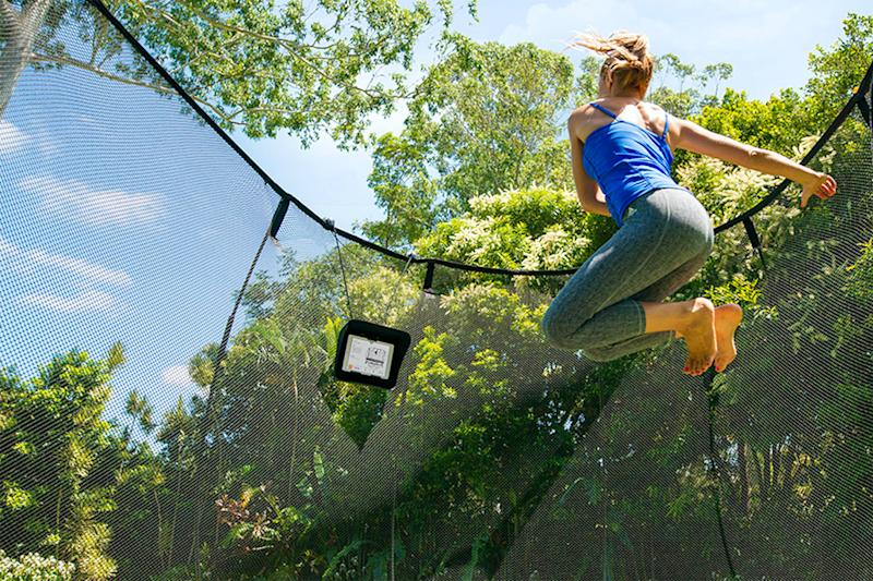 Springfree Trampoline featuring Tgoma encourages kids (and adults) to get bouncing