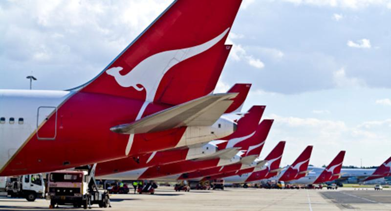 The Boeing 737 Qantas cargo plane was flying from Brisbane to Melbourne, when the cabin pressure suddenly dropped and left one pilot incapacitated