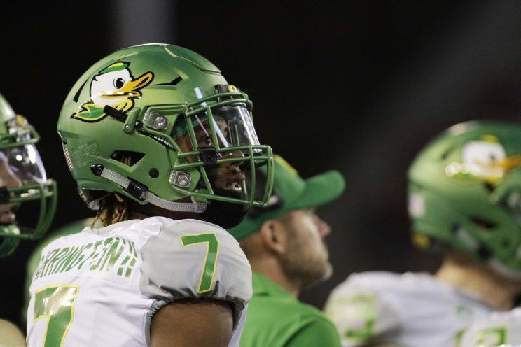Utah gave Darren Carrington a second chance after Oregon dismissed the standout receiver. (AP)