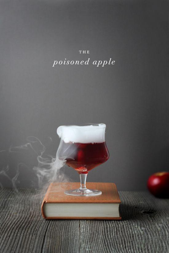 "<p>Take a sip, then wait for Prince Charming (or the evil Queen) to show up.</p><p><em><a href=""http://www.minted.com/julep/2014/10/24/creepy-halloween-cocktails-the-poisoned-apple/"" rel=""nofollow noopener"" target=""_blank"" data-ylk=""slk:Get the recipe from Julep »"" class=""link rapid-noclick-resp"">Get the recipe from Julep »</a></em> </p>"