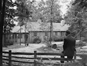 <p>If the president needs to get away for a quick vacay, thank FDR for establishing Camp David, a quiet country residence up in Catoctin Mountain Park, Frederick County, Maryland.</p>
