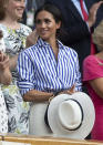 <p>The Duchess of Sussex has now opted for shirts fashionably tucked into skirts.<br>Source: Getty </p>