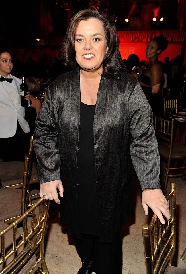 "March 21: Rosie O'Donnell turns 49 Kevin Mazur/<a href=""http://www.wireimage.com"" target=""new"">WireImage.com</a> - February 9, 2011"