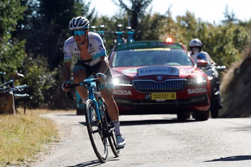 Lutsenko claims 1st Tour de France victory on Stage 6
