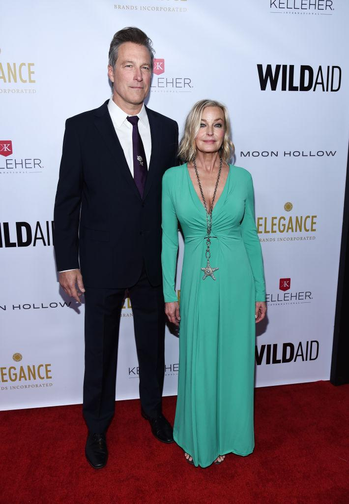 John Corbett and Bo Derek have been together for nearly 20 years. (Photo: Amanda Edwards/Getty Images)