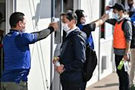 Most of the 80,000 volunteers recruited as the unpaid backbone of the Games are Japanese, but around 12 percent are foreign nationals from 120 countries and territories