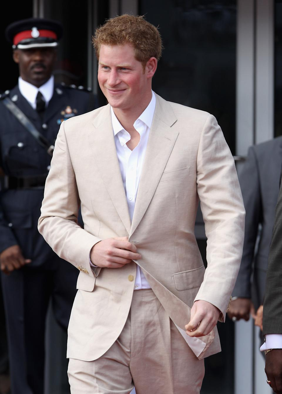 Prince Harry in 2012