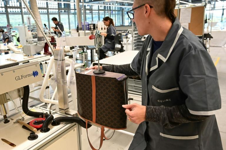 Fashion and leather sales have soared for LVMH with its brands like Celine