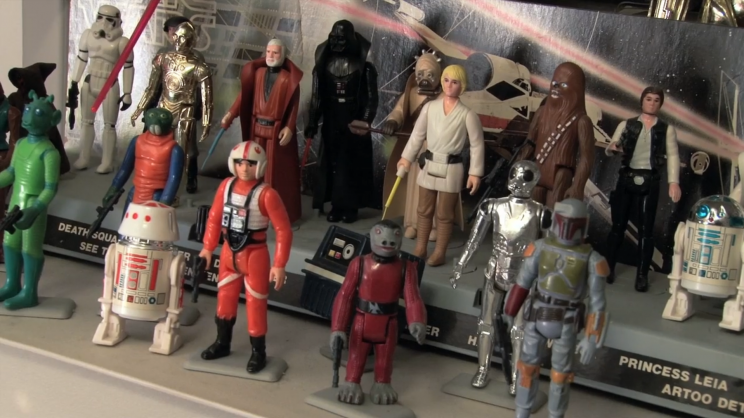Kenner Star Wars action figure toys from teaser for 'Plastic Galaxy' on Vimeo (Photo: Plastic Galaxy)