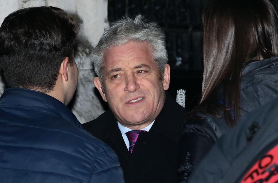 Mr Bercow has become a minor celebrity as a result of his antics in the Commons (Getty)