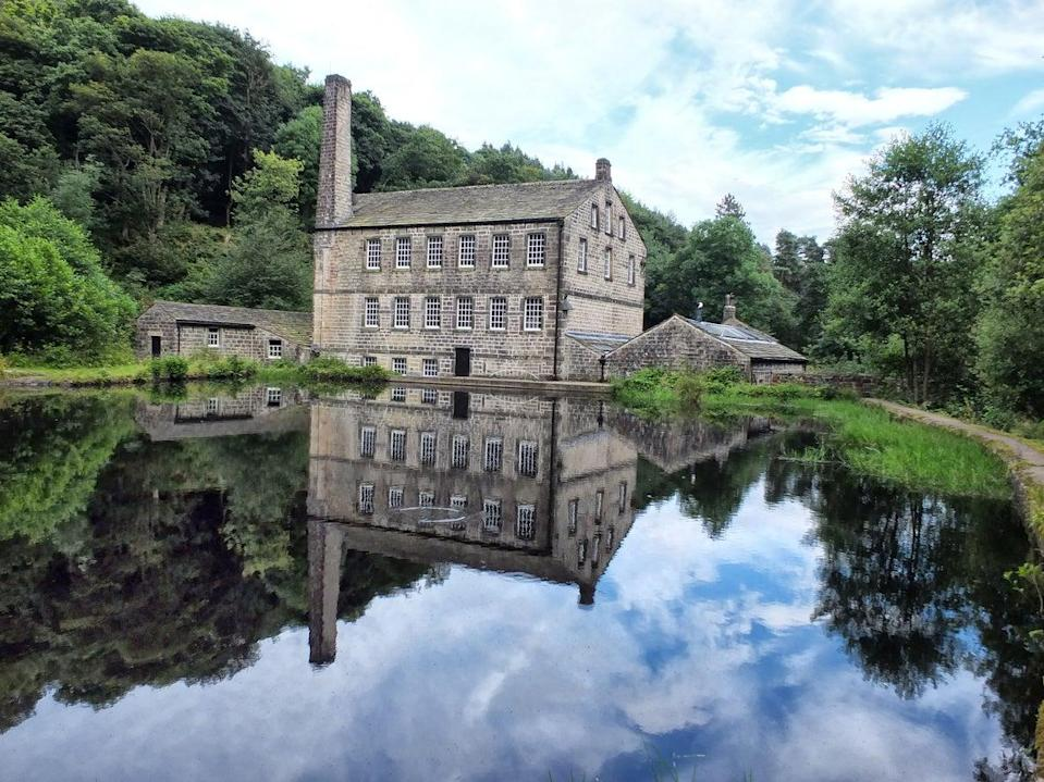 Gibson Mill and the surrounding woodland of Hardcastle CragsGetty/iStock