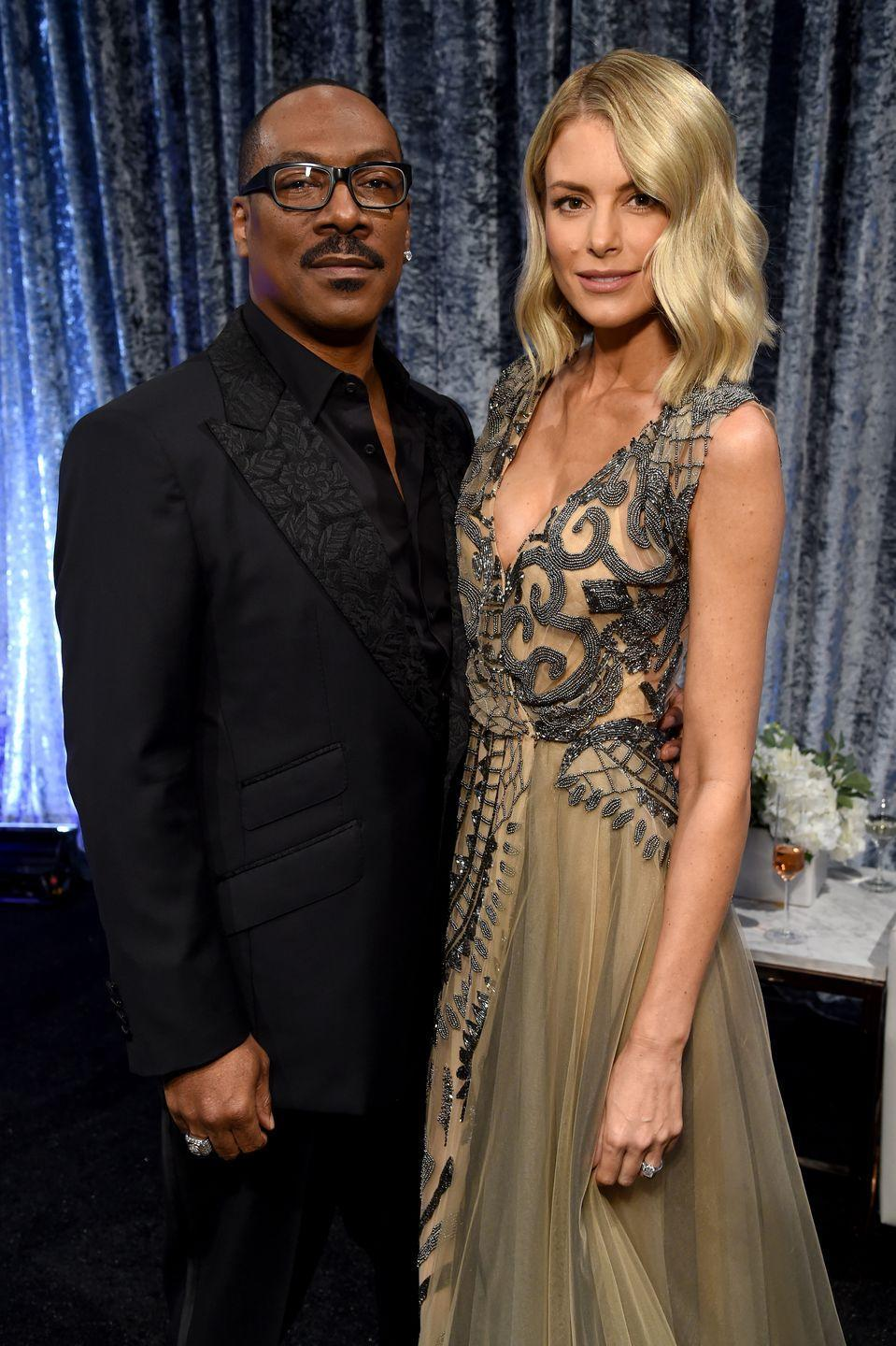 <p>After six years together, Eddie Murphy and Paige Butcher, a notoriously private couple, announced their engagement in 2018. The couple share two children together, a daughter Izzy and son Max. </p>