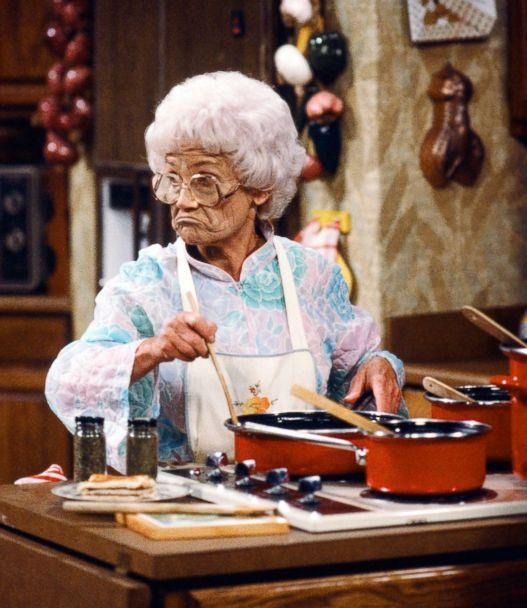 PHOTO: Estelle Getty starred as Sophia Petrillo on 'The Golden Girls.' Despite playing Bea Arthur's mother in the show, Getty was a year younger than Arthur in real life. (NBC via Getty Images)