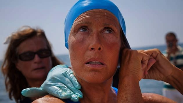 Diana Nyad prepares to depart from Cuba — Associated Press