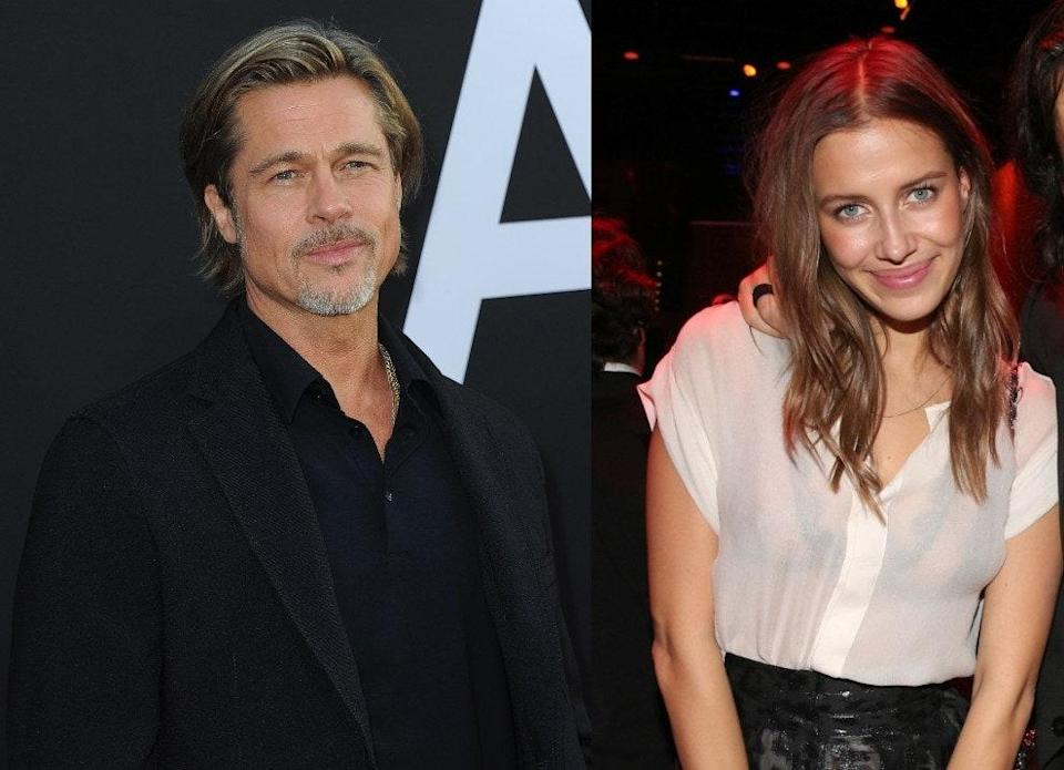 Brad Pitt And 27 Year Old Nicole Poturalski Were Reportedly Flirty At A Party Over A Year Ago