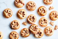 "These adorable treats are the ultimate mash-up of crisp linzer cookies and apple hand pies. <a href=""https://www.epicurious.com/recipes/food/views/apple-pie-cookies?mbid=synd_yahoo_rss"" rel=""nofollow noopener"" target=""_blank"" data-ylk=""slk:See recipe."" class=""link rapid-noclick-resp"">See recipe.</a>"