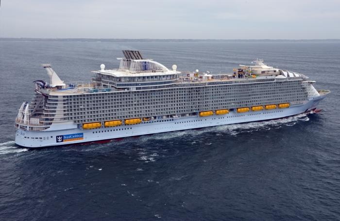 World's largest cruise ship ready to sail