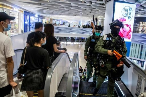 Diplomatic ties between London and Beijing have been frayed by China's new security law for Hong Kong
