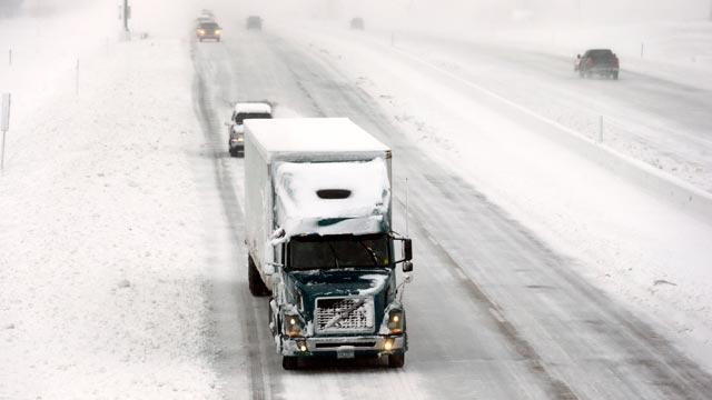Wild Weather Upends Holiday Travel