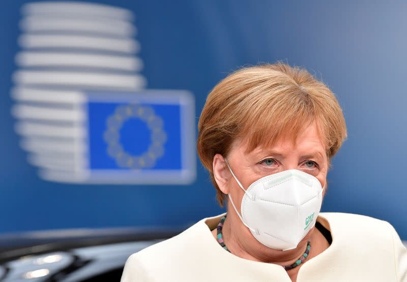 Germany's Merkel says possible that there is no agreement at EU summit