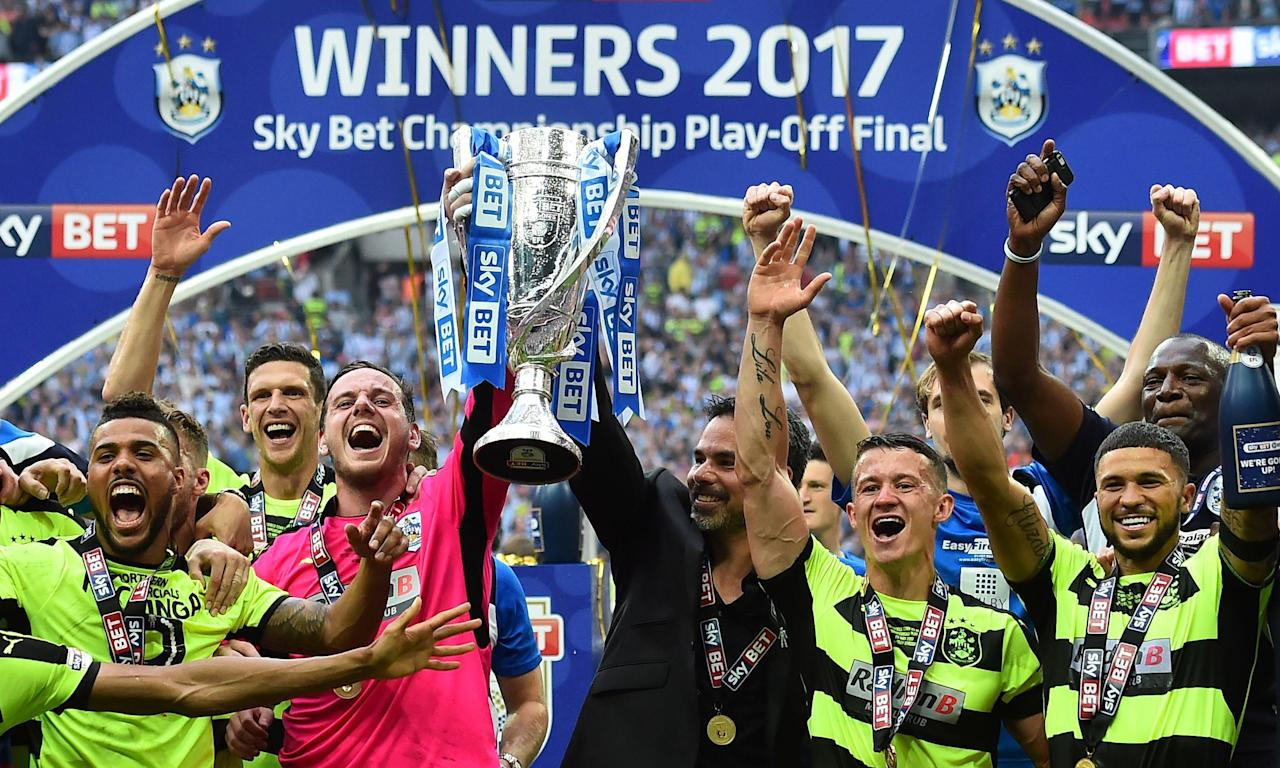Huddersfield Town earned promotion last season. Will your team do the same this year?