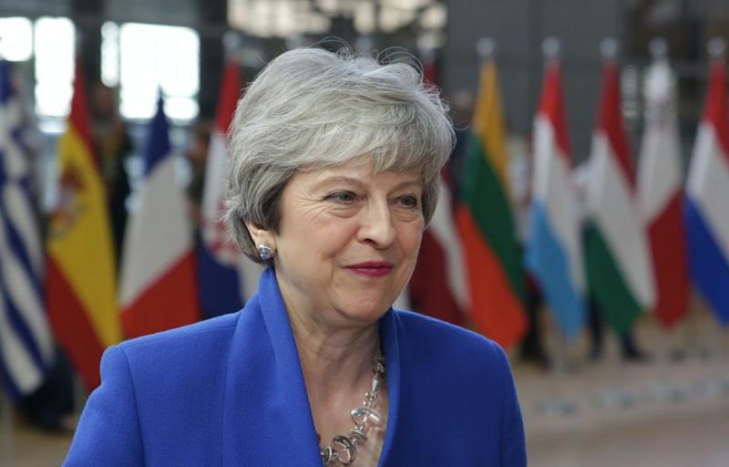 Theresa May has agreed for Huawei to help build the tech despite security warnings (Getty)