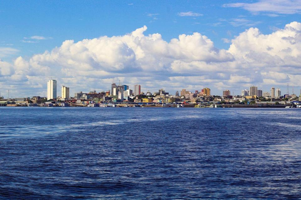 <p>The city of Manaus in Brazil where the worrying Covid variant was first detected </p> (Pixaby)