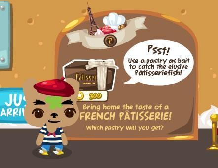 Pet Society French Patisseriefish at the store