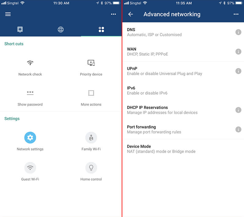 Advanced users will find the customization options offered by Google Wifi to be limited.
