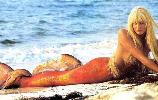 Daryl Hannah in the 1984 original Splash movie. Source: Disney