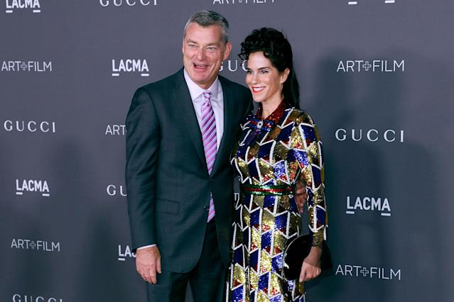 Tony Ressler and Jami Gertz. (Photo: Getty Images)