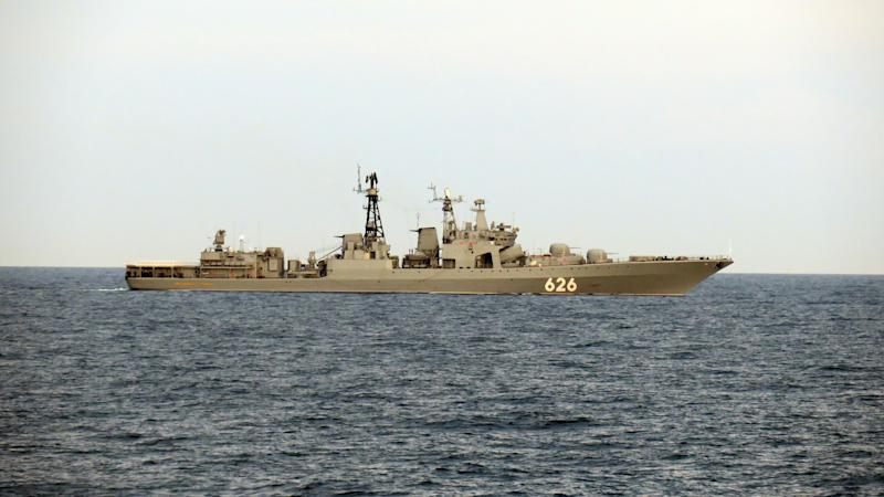 Russian warships shadowed through English Channel