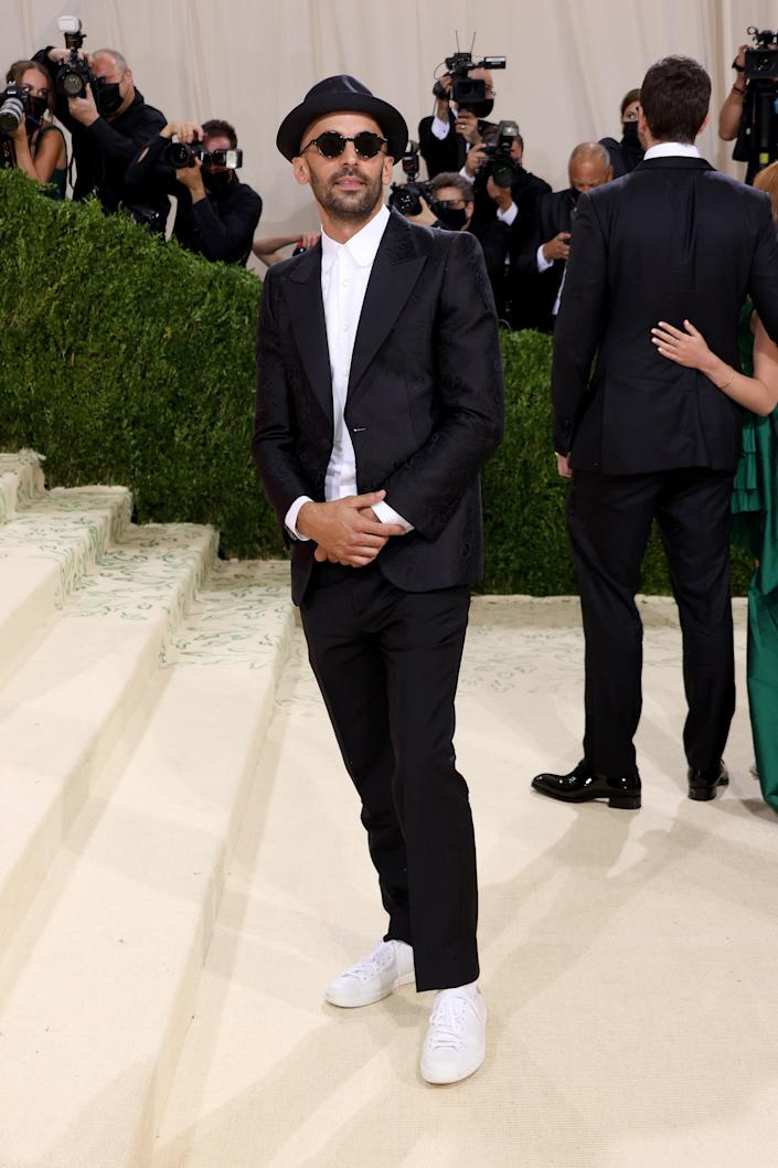 """<h1 class=""""title"""">JR in Gucci</h1><cite class=""""credit"""">Photo: Getty Images</cite>"""