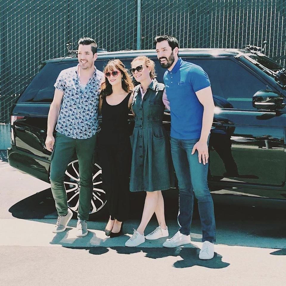 Deschanel met Scott while filming an episode of <em>Carpool Karaoke </em>in August 2019. The two were joined by their respective famous siblings, Emily and Drew.