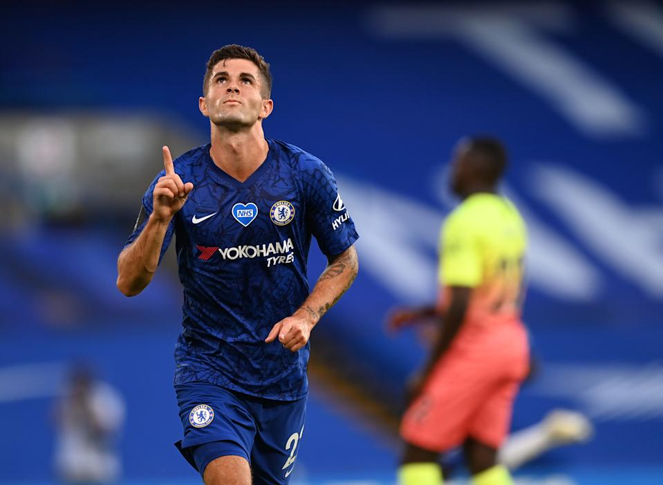 Christian Pulisic is primed for a big season at Chelsea after breaking out this summer. (Photo by Darren Walsh/Chelsea FC via Getty Images)