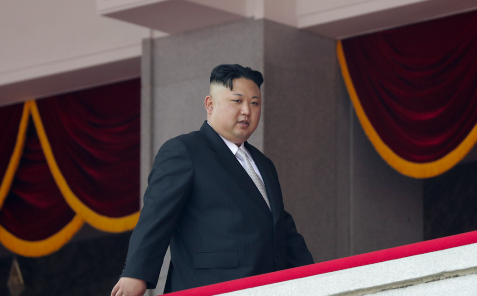 <em>North Korea said it was looking at plans to attack Guam to contain US military activity (Rex)</em>
