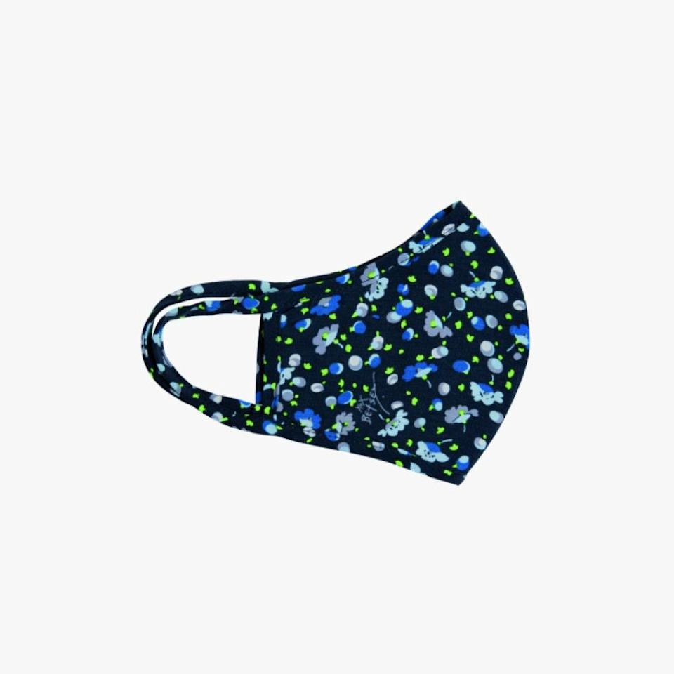 """$20, BETSEY JOHNSON. <a href=""""https://betseyjohnson.com/collections/fashion-masks/products/printed-fashion-face-mask-set-blue-multi"""" rel=""""nofollow noopener"""" target=""""_blank"""" data-ylk=""""slk:Get it now!"""" class=""""link rapid-noclick-resp"""">Get it now!</a>"""