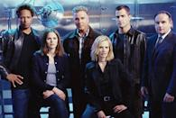 <p><strong><em>CSI: Crime Scene Investigation </em><br><br></strong>The Las Vegas-based original <em>CSI</em> launched several spinoffs and topped the ratings for years while it ran. </p>