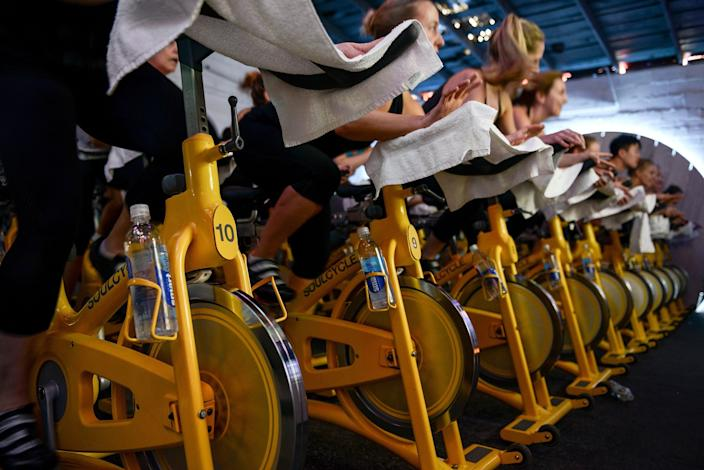 SoulCycle spin studio, which is pictured here in Austin in 2015, has sent a notice to members about measures it's taken since the coronavirus outbreak.