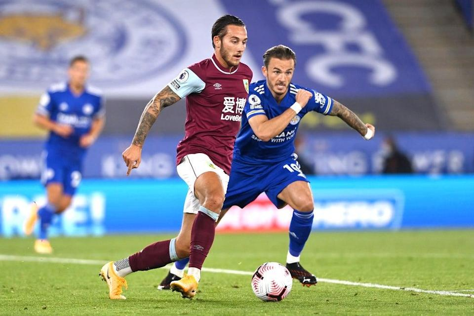 Leicester welcome Burnley to the King Power Stadium  (Getty Images)