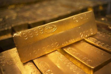 Gold prices were slightly lower on Tuesday