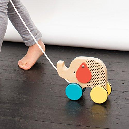 Petit Collage Jumping Jumbo Elephant Wood Pull Toy (Amazon / Amazon)