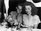 <p>On September 19, 1945, 17-year-old Shirley Temple married John Agar, an Air Force sergeant who was given exceptional leave for the ceremony. The two celebrated their wedding reception at Temple's home. They divorced five years later, and Temple remarried just once more.</p>