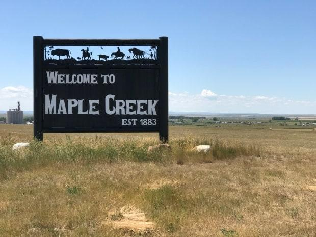 Maple Creek is bracing for a rally to protest measures intended to stop the spread of COVID-19, which is set to arrive on Saturday. (Guy Quenneville/CBC - image credit)