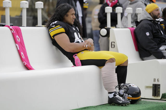 Former Steeler Troy Polamalu will play a role in the Alliance of American Football league. (AP)