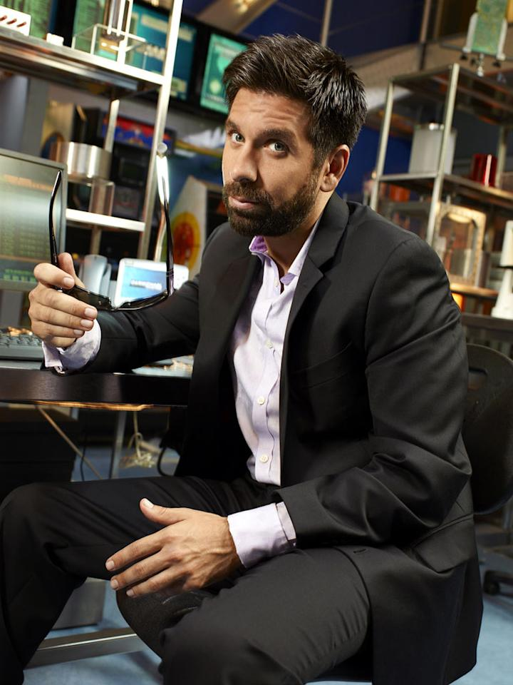 "Joshua Gomez as Morgan Grimes on ""Chuck"""