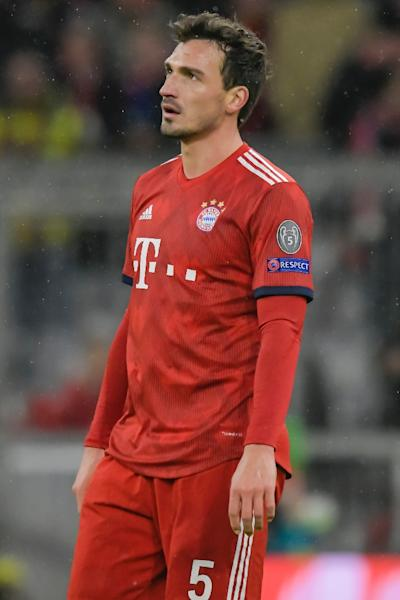 Joachim Loew faced fierce criticism for his decision to exclude World Cup winners Mats Hummels (pictured), Jerome Boateng and Thomas Mueller from the Germany set-up (AFP Photo/GUENTER SCHIFFMANN)