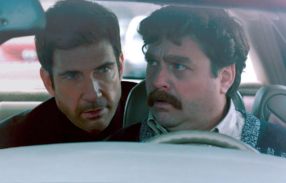 """Dylan McDermott and Zach Galifianakis in Warner Bros. Pictures' """"The Campaign"""" - 2012"""